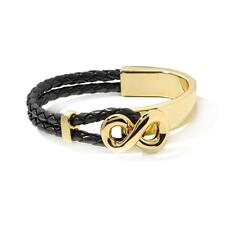 "Roberto by RFM ""Princess Lee"" Infinity Station Woven Cord 6-1/2"" Bracelet HSN"