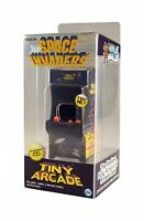 Space Invaders Classic Tiny Arcade Game - Palm Size w/ Authentic Sounds&Joystick
