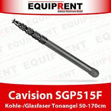 Cavision SGP515F Glas-/Kohlefaser Tonangel / Boom Pole / 450g / 50-170cm (EQ846)
