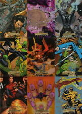 2008 Marvel Masterpieces Series 3: GOLD Foil Marvel Moments 21 Cards (NOT a Set)