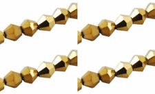 Glass Gold 4 - 4.9 mm Size Jewellery Beads