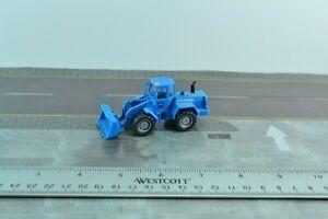 Wiking Construction Wheeled Loader Blue 1:87 HO Scale (HO818)