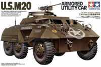 U.S. M20 Armored Utility Car Vaicolo Blindato USA - Tamiya Kits 1:35 35234