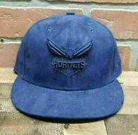 Men's New Era 9Fifty Charlotte Hornets NBA Blue Snapback Cap