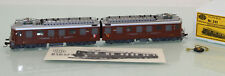 HAG H0 241 Schweiz Doppel-E-Lok Ae 8/8 braun der BLS neuwertig in OVP (SL323)