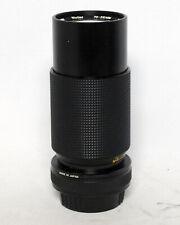 Vivitar 70-210mm 1:4.5 Zoom Lens MC Macro 35mm Pentax K Mount SLR Film