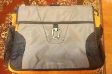 VICTORINOX SPORTY Swiss Army BLACK/ORANGE/GREY Carry-On Shoulder/Messenger BAG.