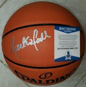 Tacko Fall Signed NBA Basketball w/ BAS COA #T27757 Boston Celtics Beckett