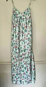 BNWT ZARA MULTICOLOURED FLORAL PRINT CAMISOLE DRESS WITH  SIDE GATHERING SIZE S