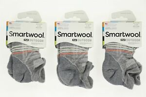 Smartwool 272471 Women's Outdoor Light Micro Socks Light Gray Size Large
