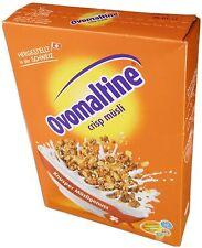 Ovomaltine Crisp Muesli,Our favorite breakfast,500 gr, best way to start the day