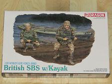 Dragon 1/35 World Elite Force Series British SBS Special Boat Service wKayak NIB