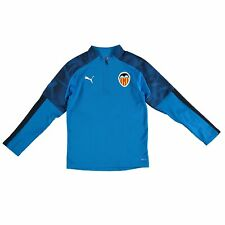 Valencia CF 1/4 Zip Training Top - Blue - Kids