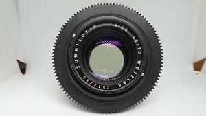 LEICA LEITZ WETZLAR SUMMILUX-R 50mm F/1.4/50 Lens