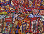 Jean Dubuffet Saint Lazare Street Canvas Print 16 x 20           #3627