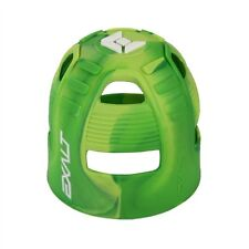 New Exalt Paintball Tank Grip Cover - Lime Swirl