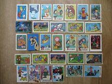 RARE Vintage series of 30 pocket calendars of the USSR series Children's cartoon