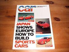 CAR MAGAZINE MAR-1989 - Porsche 911 Turbo, Montego, Audi 80 TD, Peugeot 405 GTD
