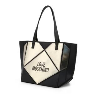 Love Moschino Tote Bag Black / GOLD JC4120PP18LX SHOPPER LARGE HANDBAG RRP £181