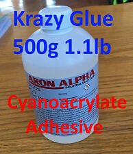 Industrial Grade Cyanoacrylate Adhesive Supper/Krazy Glue 500g 1.1lb (17.6oz)