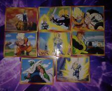 Lot 8 stickers Perou Bird Studio Dragon Ball Z 1998 DBZ cartes cards card
