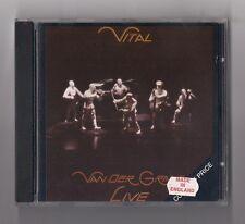 VAN DER GRAAF GENERATOR - Vital - Live CD 1978 PROG UK Import