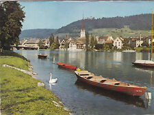 Stein am Rhine Switzerland Postcard used VGC
