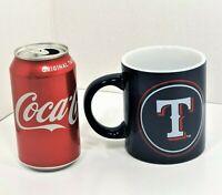 New Boelter Brands MLB Texas Rangers Blue 12oz Ceramic Coffee Mug Large Handle