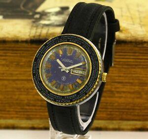 Mechanical Watch Raketa City World Time Caliber 2628.H Serviced Soviet USSR
