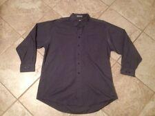 "David Taylor XL Shirt RN 15099 Dark Blue 54"" Chest"