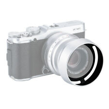 Silver Metal Hood for FUJINON LENS XF 35mm F2 R WR replaces Fujifilm LH‐XF35‐2