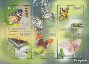 Sao Tome e Principe 4598-4602 Sheetlet (complete issue) unmounted mint / never h