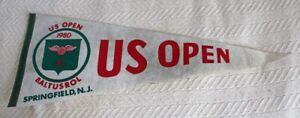 ORIG. 1980 US OPEN GOLF / BALTUSROL / SPRINGFIELD, NJ PENNANT (JACK NICKLAUS)