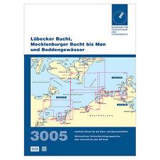 BSH 3005, Lübecker und Mecklenburger Bucht - Møn, Boddengewässer # Seekarte 2017