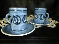 Earthenware Rye Pottery Cups & Saucers