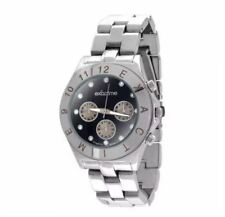 DOOKA Exactime Men's Silver Stainless Steel Strap Wrist Watch Singapore Design W
