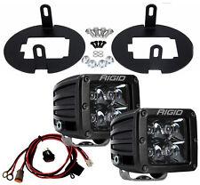RIGID LED Fog Light Kit w/ Midnight PRO Black for Toyota Tundra Tacoma 46530