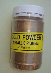 Gold pigment pearl powder, antik restoration, wood, picture frames,