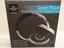 Noise-Cancellation Head phones Quiet Place by The Sharper Image