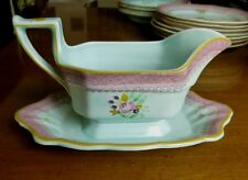 Adams Lowestoft Calyx Ware Gravy Boat Wedgwood