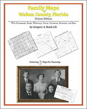 Family Maps Walton County Florida Genealogy FL Plat