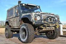 Land Rover defender 90 GALVANISED chassis off roader Diff lockers MASSIVE spec
