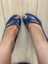 Beautiful FCUK well worn navy blue high heels size 37