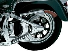 Kuryakyn Chrome Louvered Lower Belt Guard Cover Accent Trim Harley Softail 8677