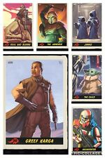 Topps Star Wars Digital Card Trader Red 6 Card Outer Reaches Wave 2 Insert Set