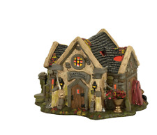 """Dept. 56 Snow Village Halloween """"The Haunted Cemetery Shed"""" ~ New ~ Creepy!"""