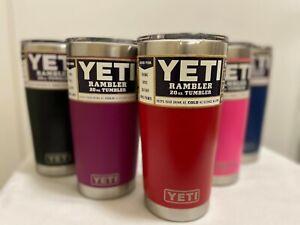 YETI Rambler 20 oz   Stainless Steel & Vacuum Insulated Tumbler  Magslider Lid