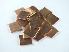20pcs Laptop GPU CPU Heatsink Thermal Pad / Copper Pad / Copper Shim:15*15*1.2mm
