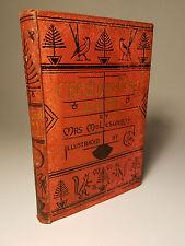 1884 CHRISTMAS-TREE LAND by MOLESWORTH & WALTER CRANE LONDON 1ST ED STEEL PLATES