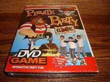Drew's Famous Pirate Party DVD T.V  Interactive Game Software + Dance Mat * New